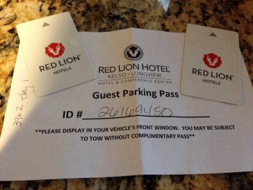 Red Lion receipts