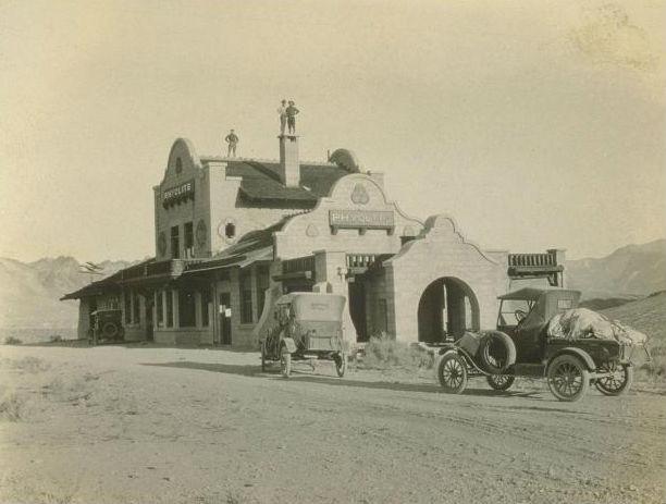 railway depot circa 1909-edit