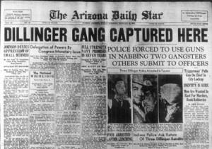Dillinger headline