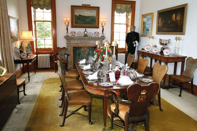 dining room at mey