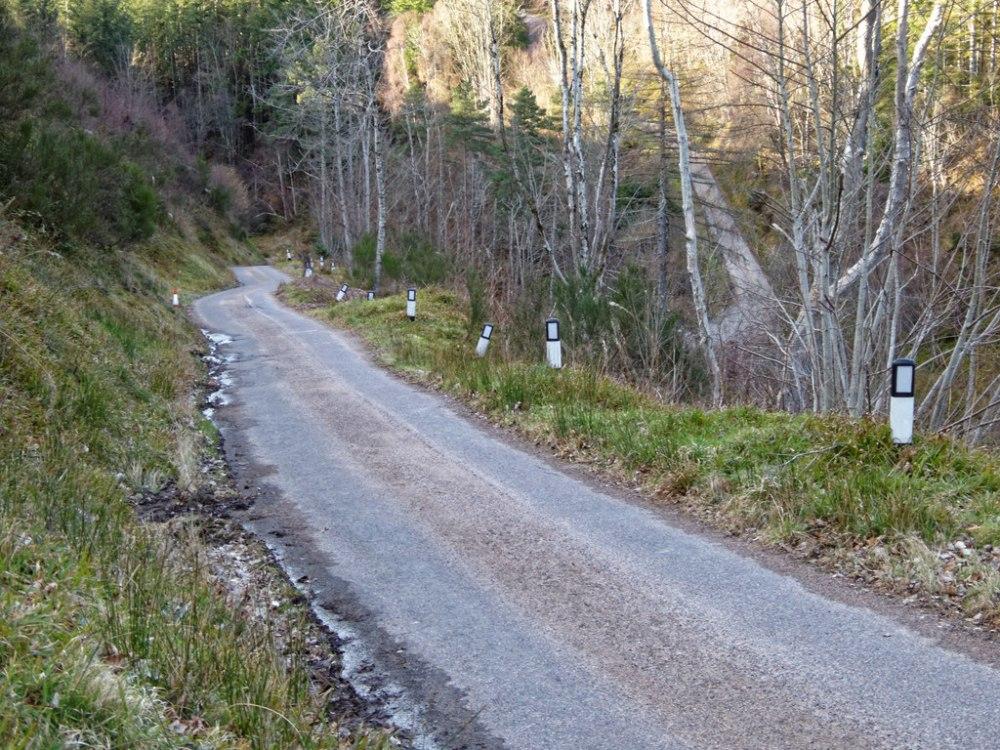 Speyside road
